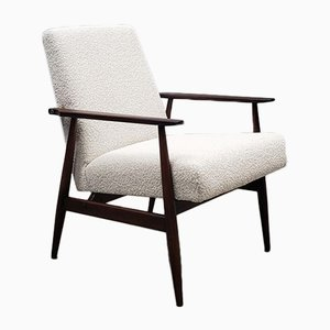 Mid-Century Boucle Armchair by Henryk Lis, 1960s