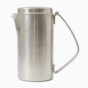 Stainless Steel Jug by Christa Petroff-Bohne for Veb Auer Cutlery & Silverware Works, 1960s