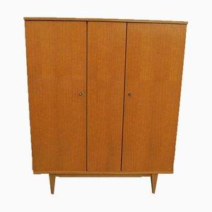 Small Vintage Golden Oak Cabinet, 1970s