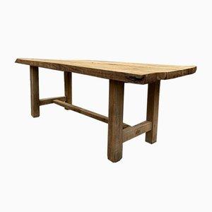 Schreibtisch oder Tisch aus Eichenholz