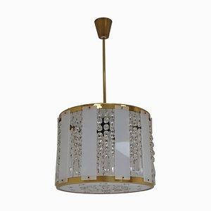 Mid-Century Pendant Lamp from Jablonec Glassworks Novy Bydzov, 1970s
