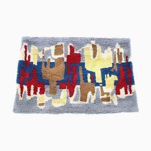 Mid-Century Wool Carpet in the Style of Ege Rya, Denmark, 1970s
