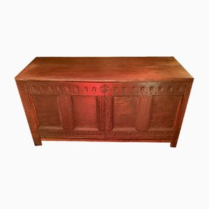 Antique Chest in Solid Wood