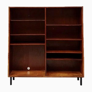 Mid-Century Danish Rosewood Shelving Unit or Bookcase by Poul Hundevad