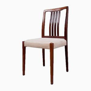 Mid-Century Swedish Rosewood Chair by Troeds