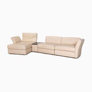 Leather Avanti Corner Sofa in Beige from Koinor