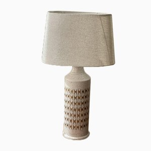 Large Stoneware Table Lamp by Bitossi for Bergboms, 1960s