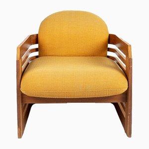 Armlehnstuhl aus Holz