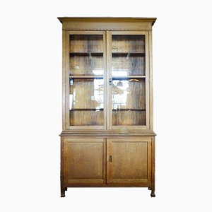 Antique Showcase Cabinet from a Café in Brussels, 1920s