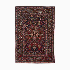 Patterned Isfahan in Dark Red with Border