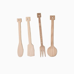 Kitchen Utensils by Antonio Aricò, Set of 9