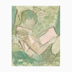 Peinture par Victor Surbek (1885, Zäziwil - 1975, Bern)
