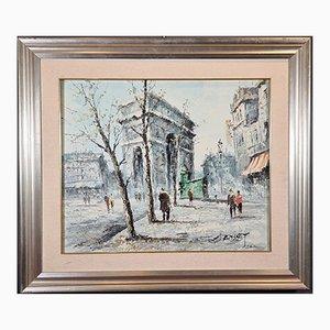 Louis Charles Basset (b. Paris, 1948), Views of Paris
