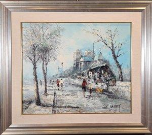 Louis Charles Basset (Paris 1948), Views of Paris