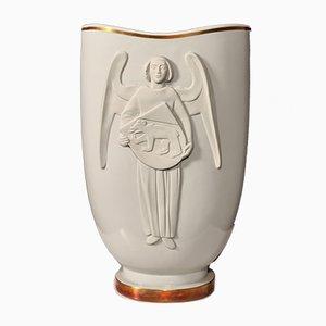 Earthenware Vase from Langenthal