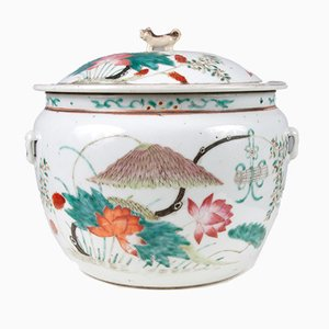 Chinese Lidded Vessel