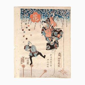 Artwork by Utagawa Kunisada II