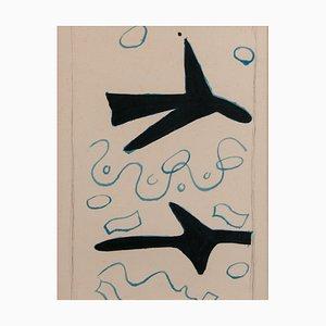 Lithographie von Georges Braque (1882-1963)
