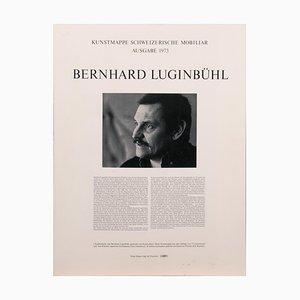 Lithograph Set by Bernhard Luginbühl (1929-2011)