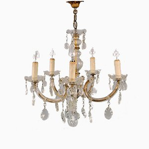 Chandelier with 5 Burners, 1920s