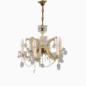 Chandelier with 6 Burners, 1980s