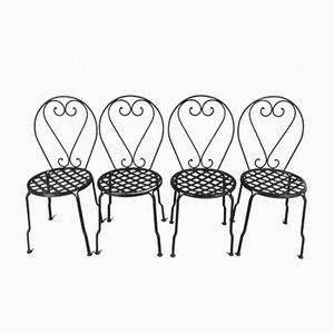 Garden Chairs, Set of 4