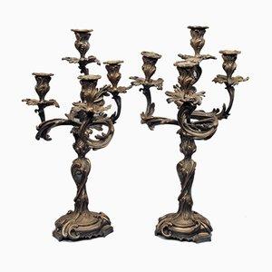 Large Art Nouveau Candleholder