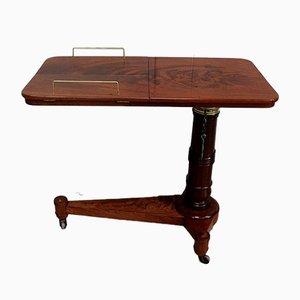 Empire Period Mahogany Reading Table, Early 19th Century