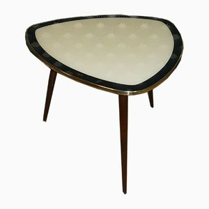 Cocktail Table with 2-Tone Glass Plate, 1950s
