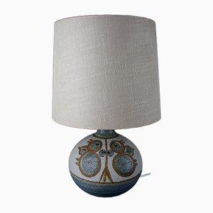 Vintage Danish Ceramic Table Lamp by Søholm Stentøj, 1960