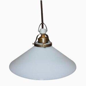 Pre-War Art Deco Porcelain Lamp