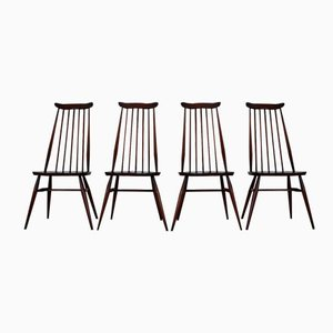 Goldsmith Elm Dining Chairs by Ercolani for Ercol, Set of 4, 1960