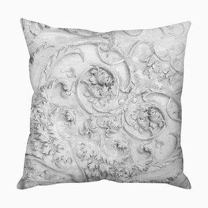 Stone Heart Grey Cushion