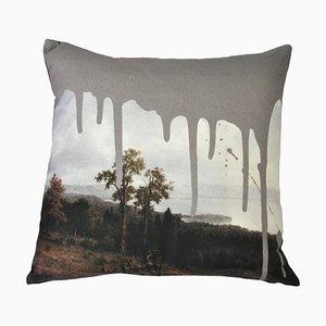 Artistic Grey Cushion