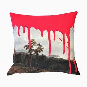 Artistic Pink Cushion