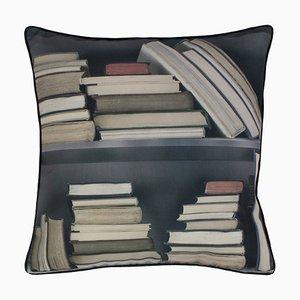 Vintage Bücherregal Kissen