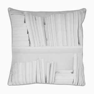 White Bookshelf Cushion