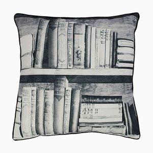 Fotokopierbares Bücherregal Kissen