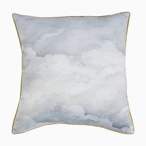 Pale Grey Clouds Cushion