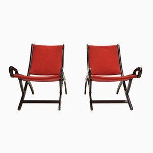 Ninfea Lounge Stühle von Gio Ponti für Fratelli Reguitti, 1958, 2er Set