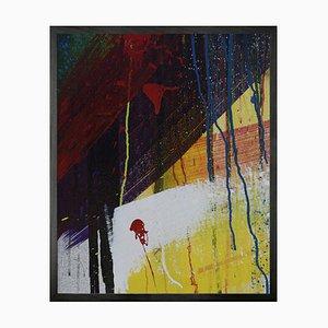 Graffiti 3 Mini Framed Printed Canvas