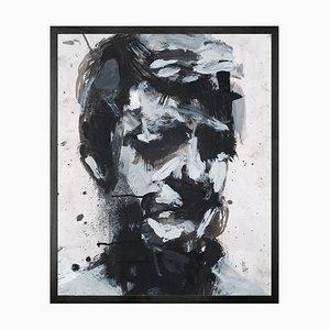 Self Portrait No. 9 Mini Framed Printed Canvas
