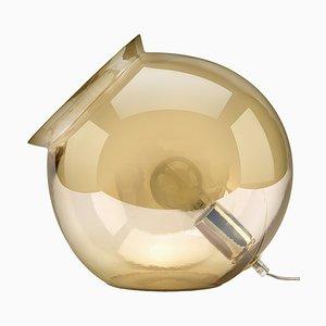 Lampe de Bureau en Vase Ambre et Cauldron