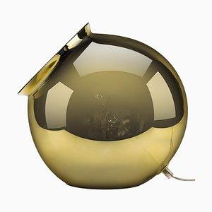 Cauldron Tischlampe aus verspiegeltem Gold