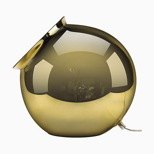Lampe de Bureau Chaudière Mirroir Dorée