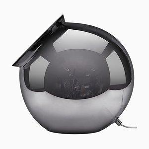 Lampe de Bureau Argentée en Forme de Cauldron Argenté