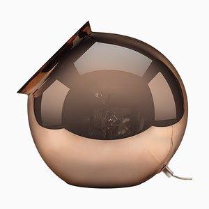 Cauldron Tischlampe aus verspiegeltem Kupfer