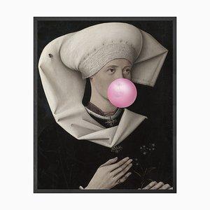 Kleines Bubblegum Portrait 2