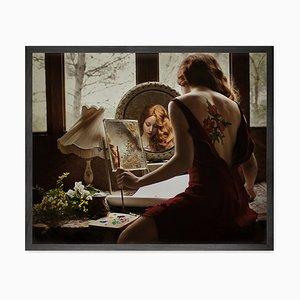 Portrait Del'artiste Canvas