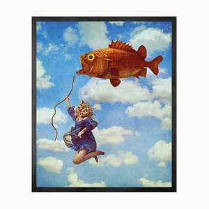 Small Expectations Fly High Framed Printed Canvas